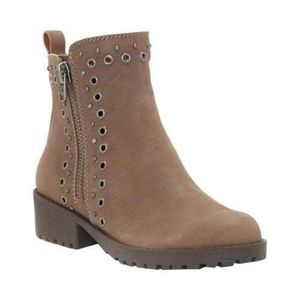 Lucky Brand Hannie Moto Boot Brindle Leather